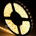 5M 120Leds/Meter 3528 SMD LED Strip Flexible Strip 600 leds 500cm  Non-waterproof --Warm white