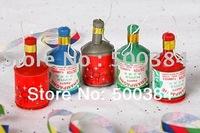 Party popper, confetti/streamer,5.5*2.5cm, christmas, new year,birthday,wedding,entertainment.wholesale,free shipping