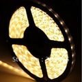 5m 3528 SMD Flexible 600 LED Strip lights  Waterproof 120 LED/Meter IP65  --Warm white