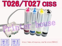 CISS for EPSON T026/T027 Stylus Photo 810,820,830,830U,925,935 T026/T027 continuous ink supply system