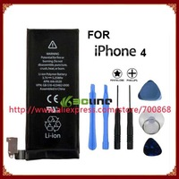 Mobile phone battery for iphone 4 4G Free shipping
