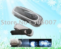 Self Powered Dynamo Led Flashlight,Led Torch With 3 Leds+Free Shipping