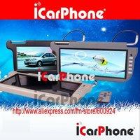 "Car Sun Visor LCD monitor with 12.3"" screen 2 Video Inputs FREE SHIPPING"