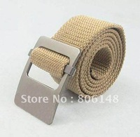Free shiping 110*4.5 cm  2014 men's high quality newest style men's fashion canvas belt, Wholesale male casual canvas belt