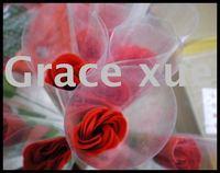 1pcs/box Pink Soap Rose,single rose,artificial Pink Rose bouquet