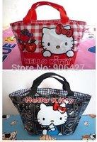 2PCS New Hello kitty cute lunch bag Girls Handbag 321