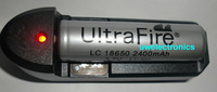 UltraFire 18650 recharge protect Battery For surefire fenix tiablo flashlight torch W/Charger