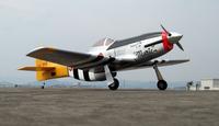 aircraft model P-51D 60 MUSTANG