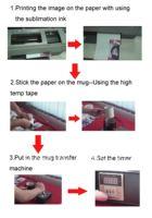 free shipping mug press machine,tshirt press,mug,sublimation transfer