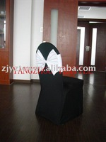 spandex band with tie  for chair covers/spandex band