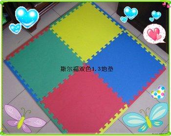 EVA SPONGE MAT,1.3cm thickness Soft Play EVA Mat,sponge toy,foam mat,4pcs/bag 60*60*1.3cm