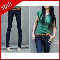 New Spring Arrival candy Pencil pants,slim jeans,fashion jeans,lady jeans,trousers
