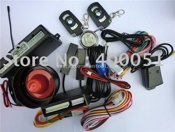 RFID keyless entry with press button start hot promotion