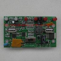 12V 3A solar charge controller regulator 12v 8.4v 5v 3.3v output for solar panel (15v-25v) solar power system free shipping
