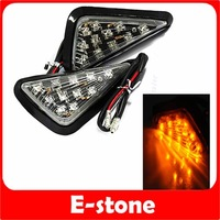 Turn Signals For YAMAHA YZF 600 R6 95-07 R1 99-07 FLUSH LED Clear + Free Shipping