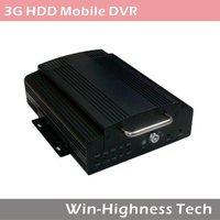 3G Mobile DVR, 4 ch Bus DVR, remote monitoring, support GPS, WIFI, 3G module, G-sensor
