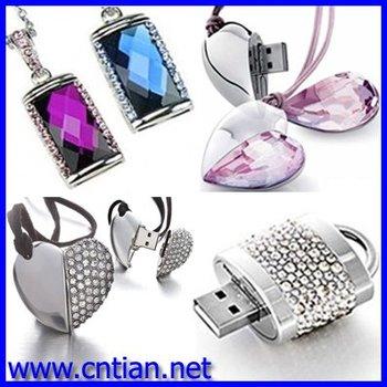 wholesale 5pcs/lot 1GB 2GB 4GB 8GB 16GB USB 2.0 flash drive, Jewelry USB drive, Promotion pen driver, Gift USB flash, USB