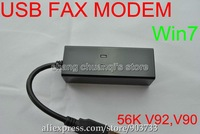 USB Fax Modem 56K Data Fax Voice USB Modem V.92 V.90 Dial Up Conexant for xp vista win7 +Free shipping by china post air mail