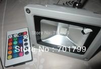 30W RGB flood light, with IR remote controller,AC100-240V input