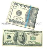 Best selling !! US Dollar purse/wallet/bag, PU wallet,Dollar wallet, Humor novel gift for birthday gift