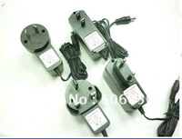Freeshipping 10 PCS AC 100-240V Converter Adapter DC 12V 1A EU/US/AU/UK Power Supply