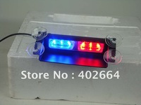 LED Emergency Warning Light (SL331-SV)+Cigarette plug with power and mode switch+GEN-3 1W LED+19 patterns+Windshield used+12V DC