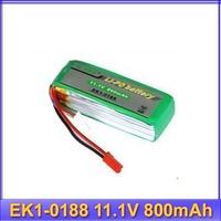 EK1-0188 11.1V 800mAh 20C Battery for Esky big lama battery RC helicopter   free shipping