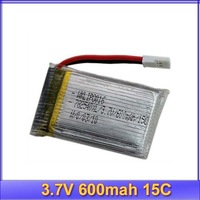 3.7V 600mah 15C  lipo li-po battery walkera 4G6 4G3 CB100 best price + free shipping