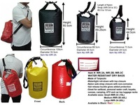 MIL-FORCE WR-3C WATER RESISTANT DRY BAG (15L)