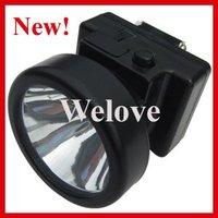 New Bright LED Headlamp Miner Lamp Cap Lamp,Free Shipping