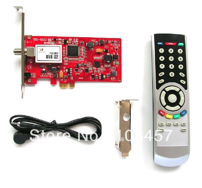 Free shipping, New TBS HD 6922 satellite TV PCI-E turner card ,DVB-S2/DVB-S, H.264, 1080P, Satellite TV Card(China (Mainland))
