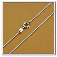 Fashion snake necklace, Copper with platinum necklace, Free shipping