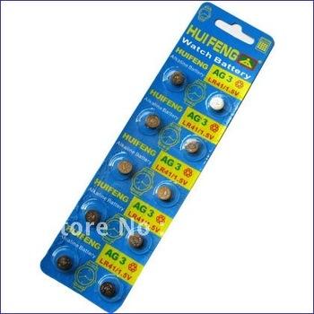 20pcs AG3 LR41 SR41 392 196 1.5V Alkaline Button Cell Battery For Watch Calculator