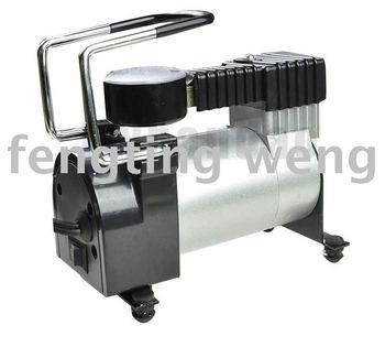 Car 12V Portable Pump metal Air Compressor AUTO Mini Tire Inflator - Sample
