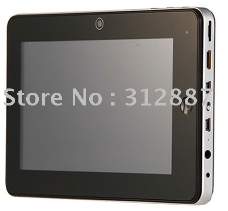1pcs retailed fee shipping Google Android 2.3 tablet pc A8 capacitive touch screen support Flash(China (Mainland))