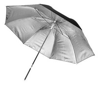 "Studio Reflector Black Silver Umbrella 43"" (110cm), BS-43"""