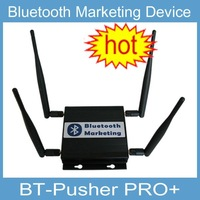 Bluetooth proximity marketing PUSH device(Long range) with battery,car charger