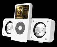Foldable Mini Speaker for iPod, iRiver and other MP3/MP4 players (with radio function)