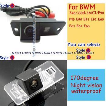 Car Rear View camera  Reversing  backup Camera paking assist for BMW E46 330d 323ci 320cd M3 E90 E91 E92 E60 E61 E62 E63