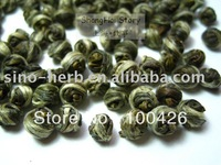 FREE SHIPPING 200g JASMINE DRAGON PEARLS TEA+FREE GIFT
