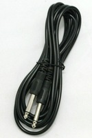 5m Pulse 6.35mm Low Noise Guitar Cable BLACK Lead