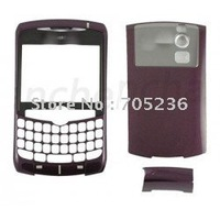 Free Shipping Faceplate & Battery Cover (Purple Color) for Blackberry Curve 8310 Faceplate & Battery Cover for BB8310