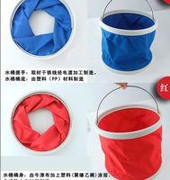 free shipping (40pcs/lot)Camping Folding bucket 11L