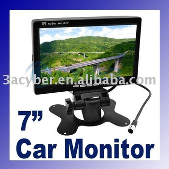 "7"" TFT LCD Car Monitor Reverse RearView 1399"