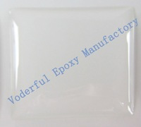 Wholesale  1000pcs 1inch square glitter epoxy sticker for DIY jewelry with free shipping
