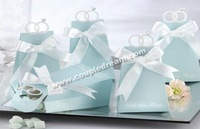 Quality Guarantee with LOW Price + Free Shipping, 200 pcs/lot With This Ring Favor Box