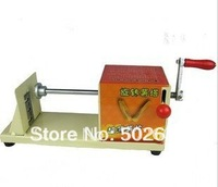 Tornado potato cutter/ slicer, potato chips machine, rotary potato tower crane