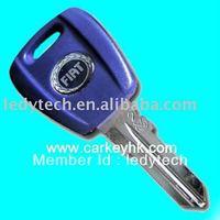car key blank for Fiat transponder key with T5 chip
