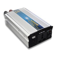 New 220V 1000W DC to AC Modified Sine Wave USB Mobile Car Power Inverter +Free Shipping [CAR16]