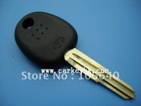 Hyundai transponder key blank with right  blade & auto key shell wholesale and retail free shipping